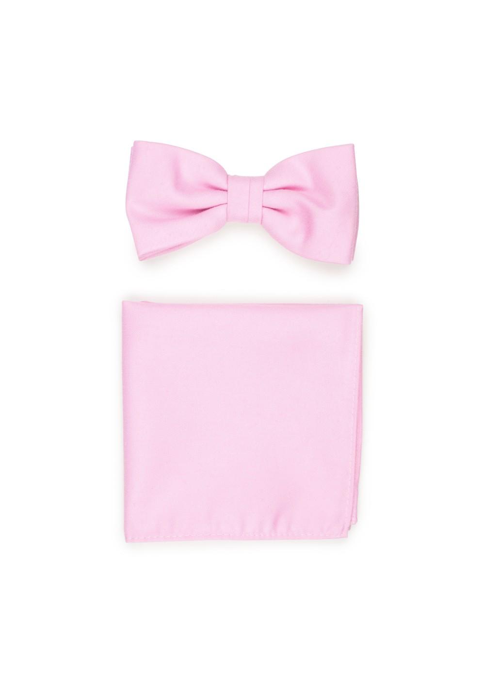 Tickled Pink Bowtie Set
