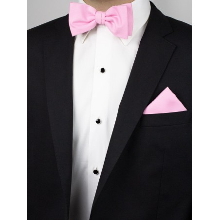 Tickled Pink Bowtie Set Styled