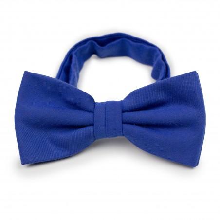 Marine Blue Bow Tie