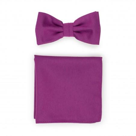 Sangria Pink Bowtie Set