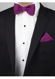 Sangria Pink Bowtie Set Styled