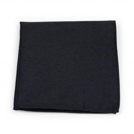 Matte Black Pocket Square