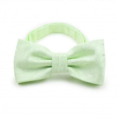 Wedding Bow Tie in Seafoam Green