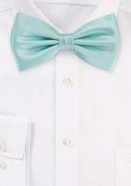 Glacier Blue Bow Tie