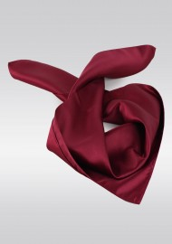 Solid Burgundy Womens Neck Scarf