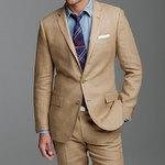Matching a Tan Linen Suit