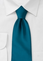 solid-turquoise-blue-tie