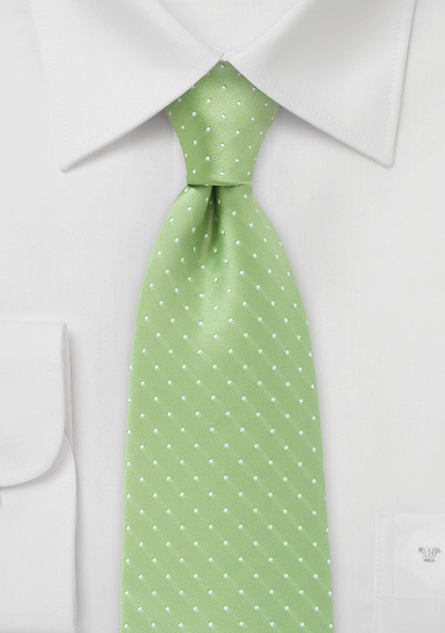 lime-green-polka-dot-tie