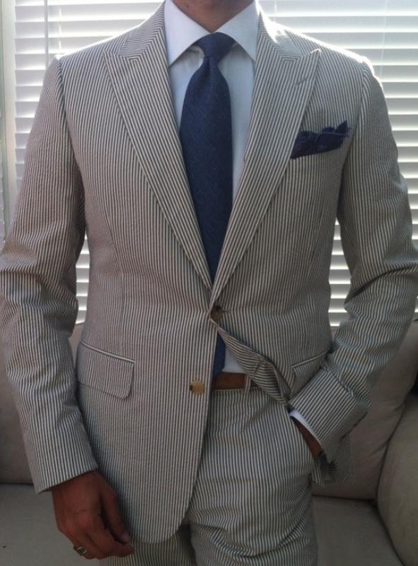 Stylish Seersucker Suits - Trendy Seersucker Summer Outfits