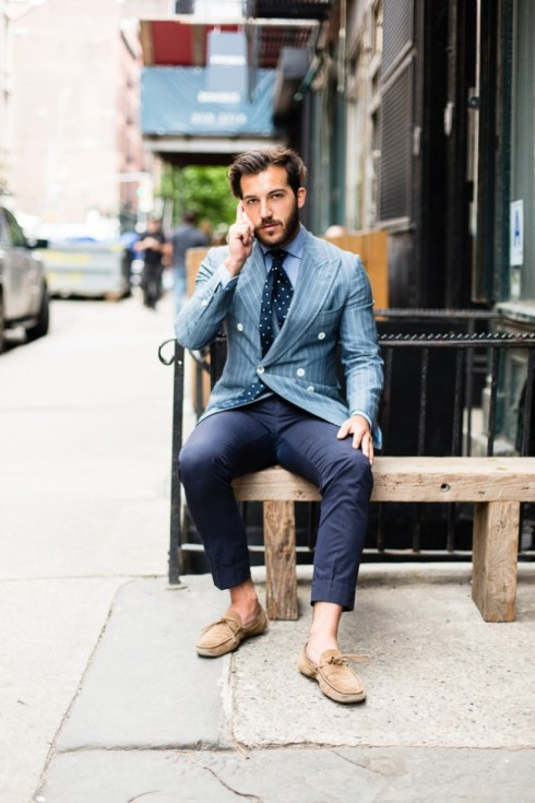 Stylish Outfits for Dress Shoes without Socks
