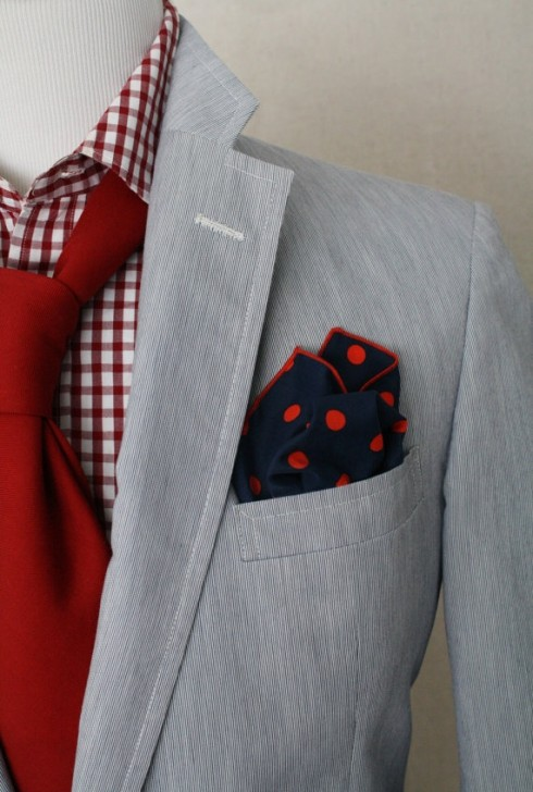 Looking stellar in gingham for Men s red gingham dress shirt