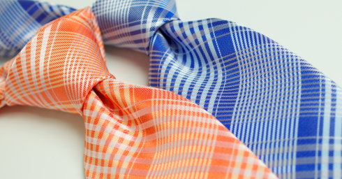bright-color-plaid-ties