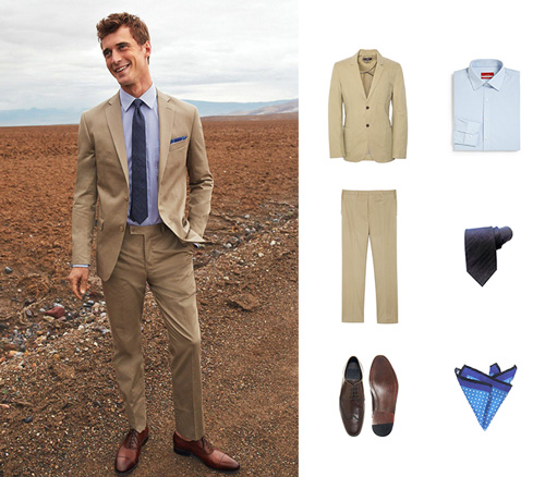 Summer Style Suit and Accessories