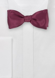 Rich Wine Red Bow Tie