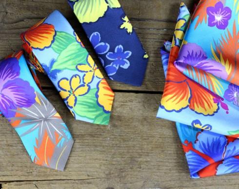 Designer-Hawaii-Print-Tie