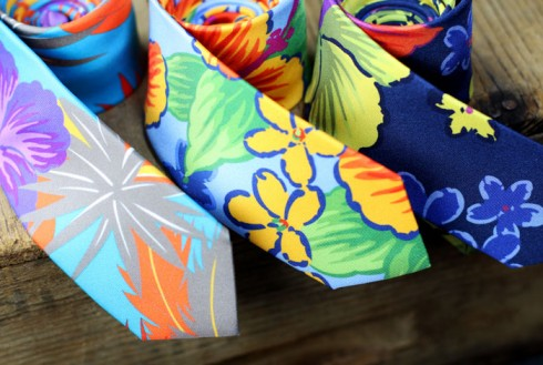 Tropical-Designer-Skinny-Tie