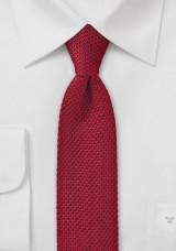 knitted-tie-cherry-red