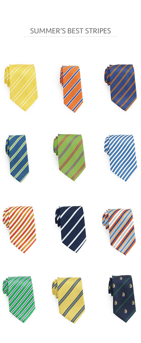 Best Summer Striped Neckties