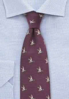 maroon-duck-hunting-necktie