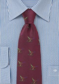 pheasant-necktie-burgundy