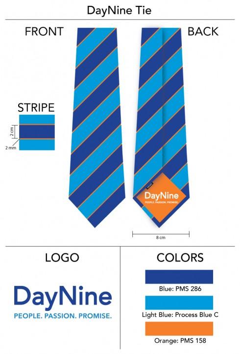Custom-Silk-Necktie-Logo