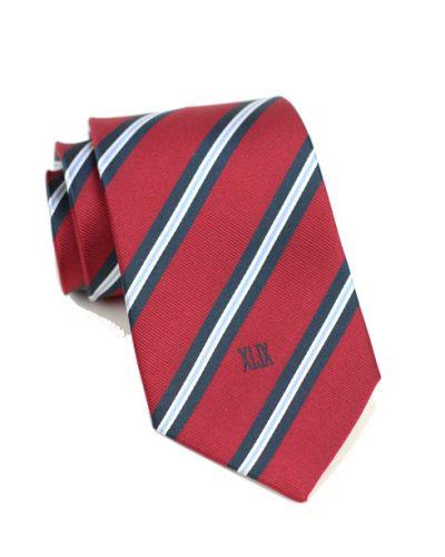 Custom Striped Repp Neckties