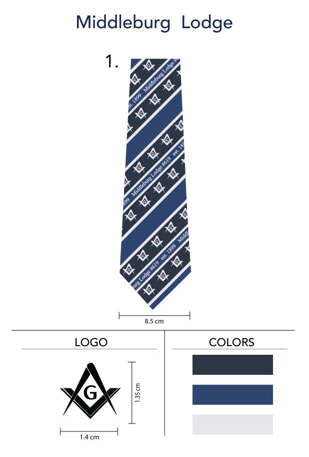 Custom-Freemason-Lodge-Neckties
