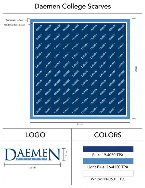Daemen_College_Womens_Logo_Scarves