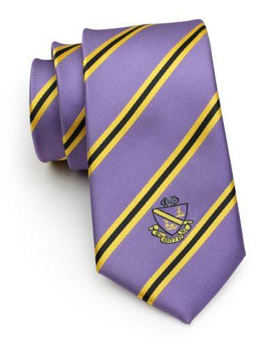 Custom Made Fraternity Logo Skinny Necktie