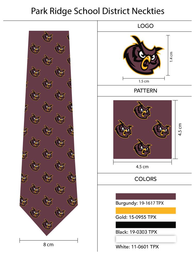 Mascot School Neckties