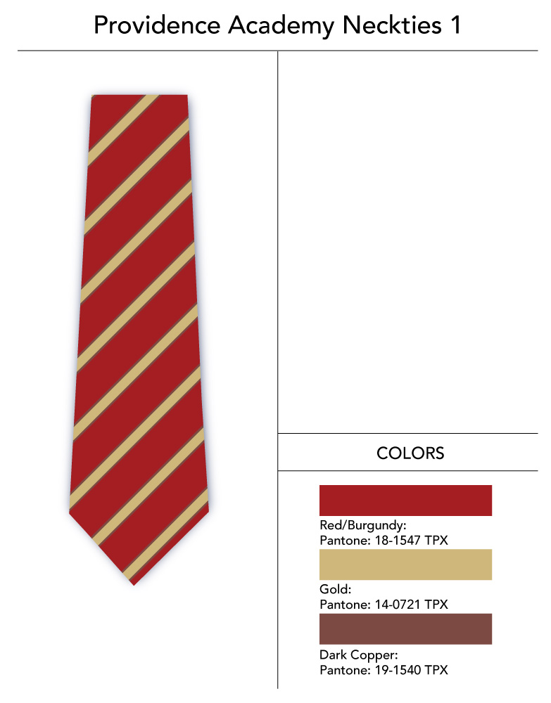 striped custom tie