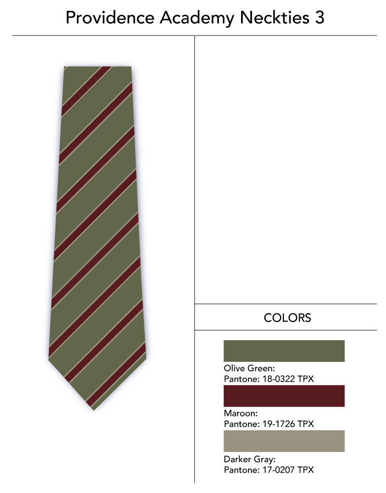 Custom Striped Necktie