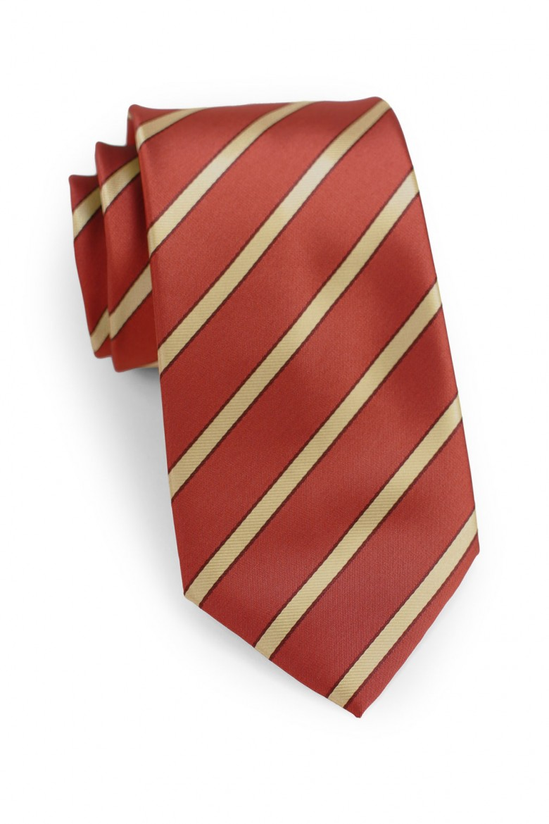 custom striped necktie for men