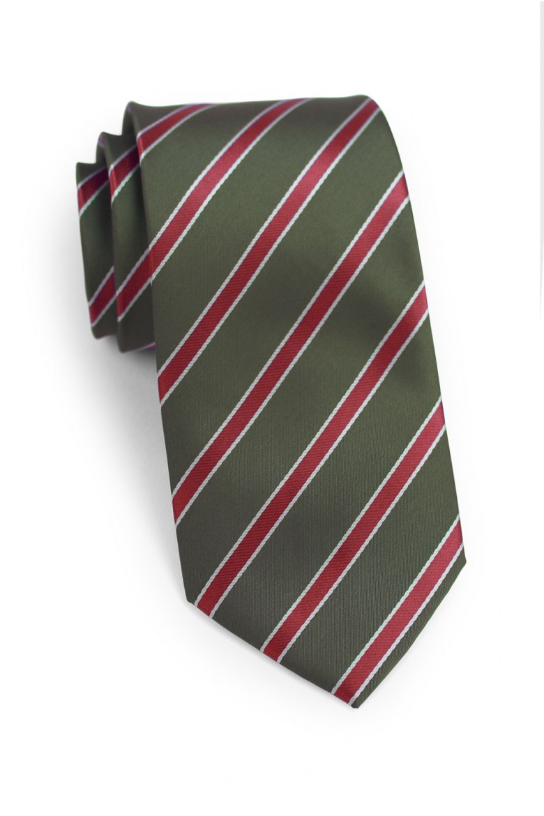 custom striped mens tie