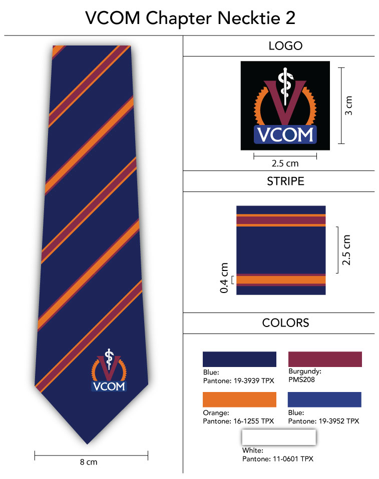 custom pantone color necktie