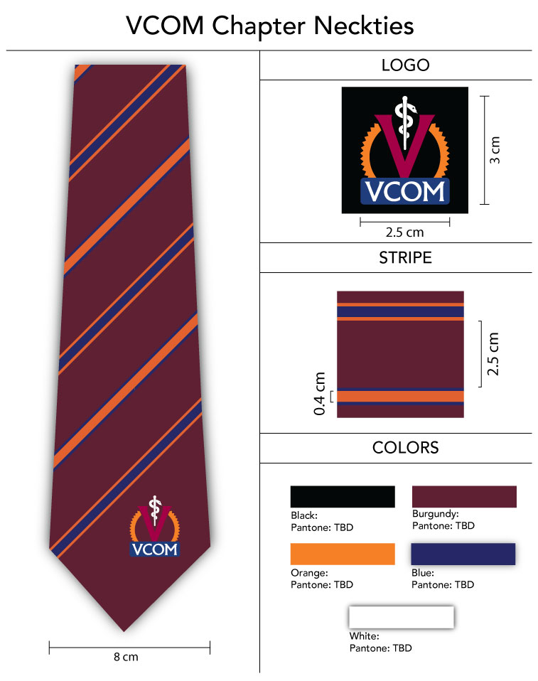 custom striped design ties