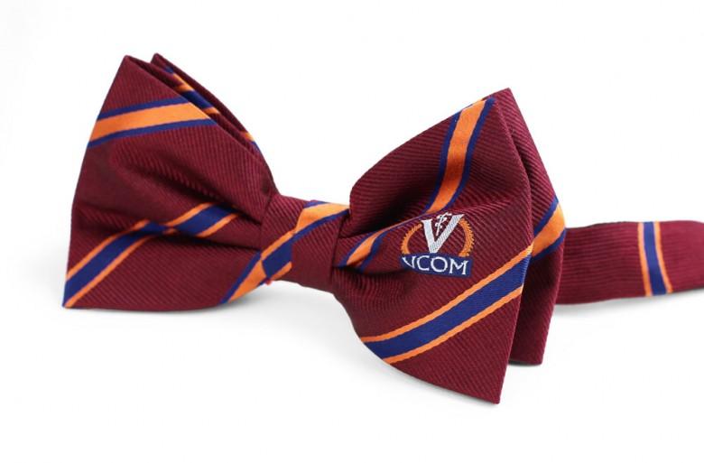woven custom logo bow ties