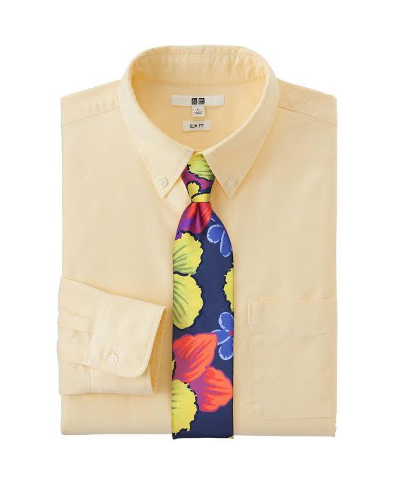 Skinny Tropical Tie