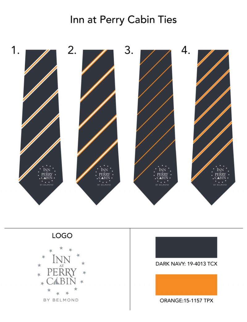 Logo Silk Ties Design Options