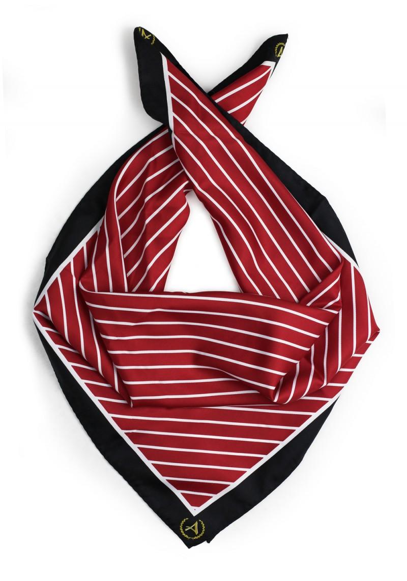 custom logo school scarf