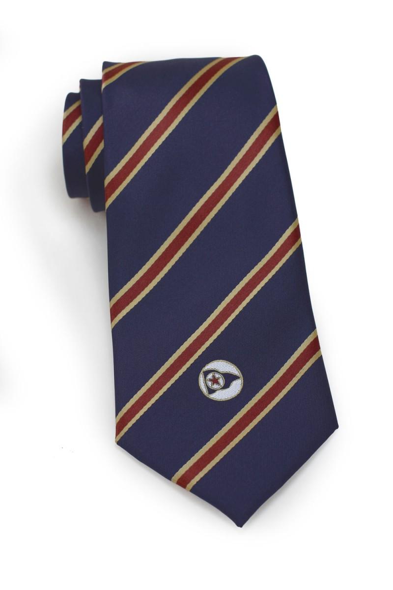 sailing pennant custom silk tie