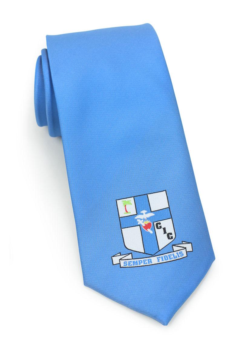 Large Logo Necktie Woven