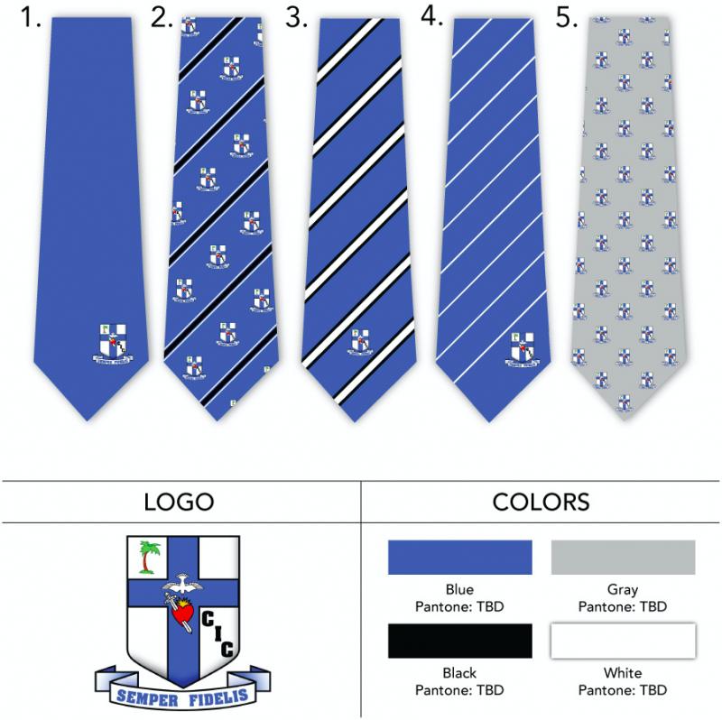 woven logo neckties custom design