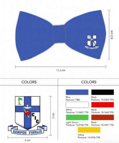 logo bow tie custom design