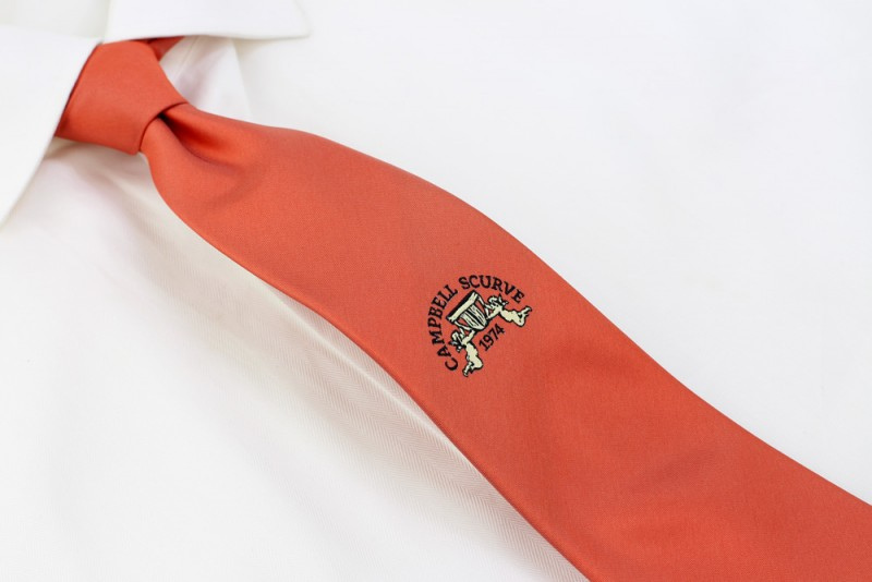 logo neckties custom design