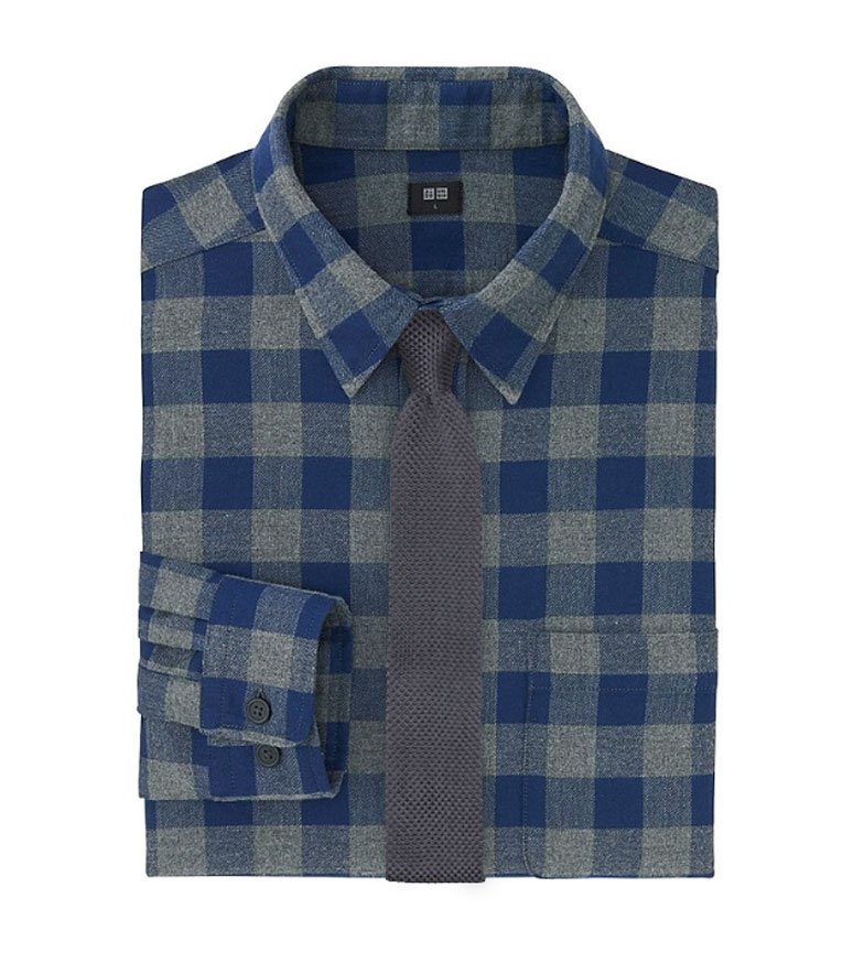 Flannels Shirts and Neckties for Fall