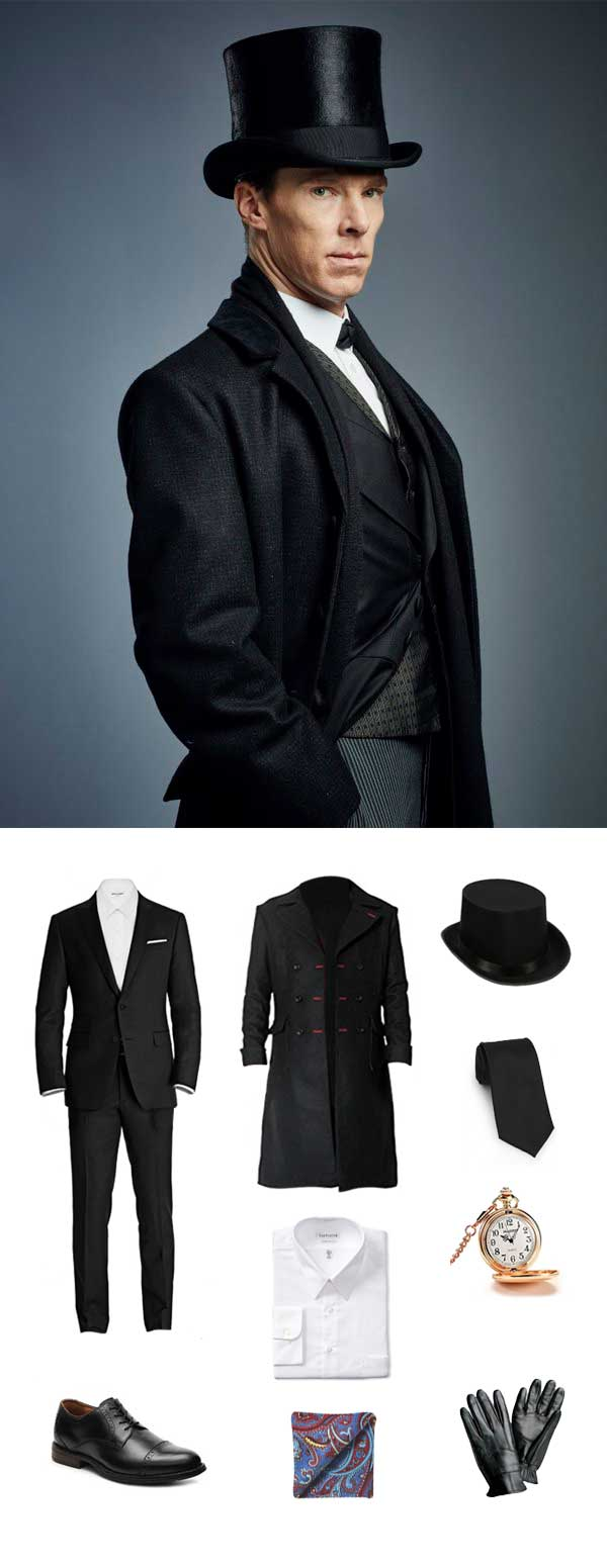 Sherlock Holmes Halloween Outfit Guide