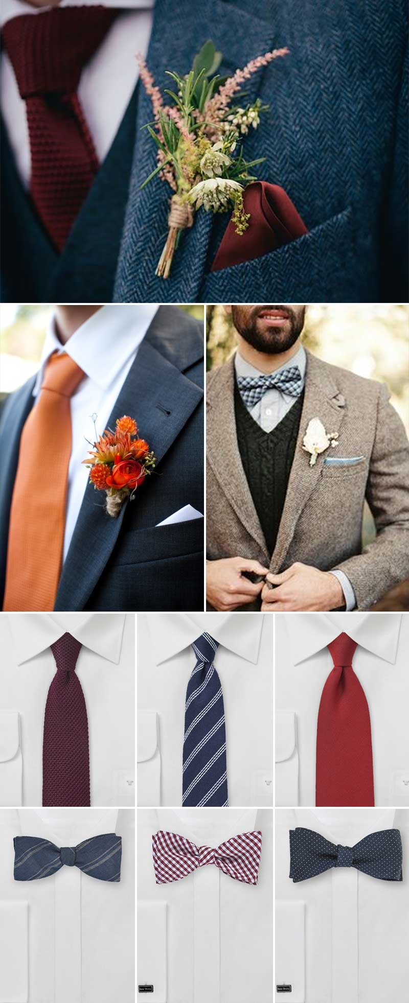 Men's Inspiration For A Fall Wedding