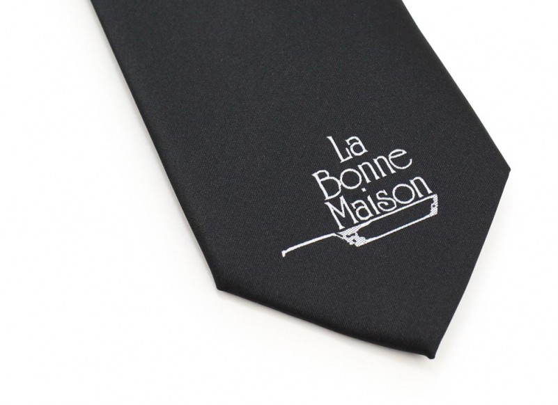 custom tie for catering company