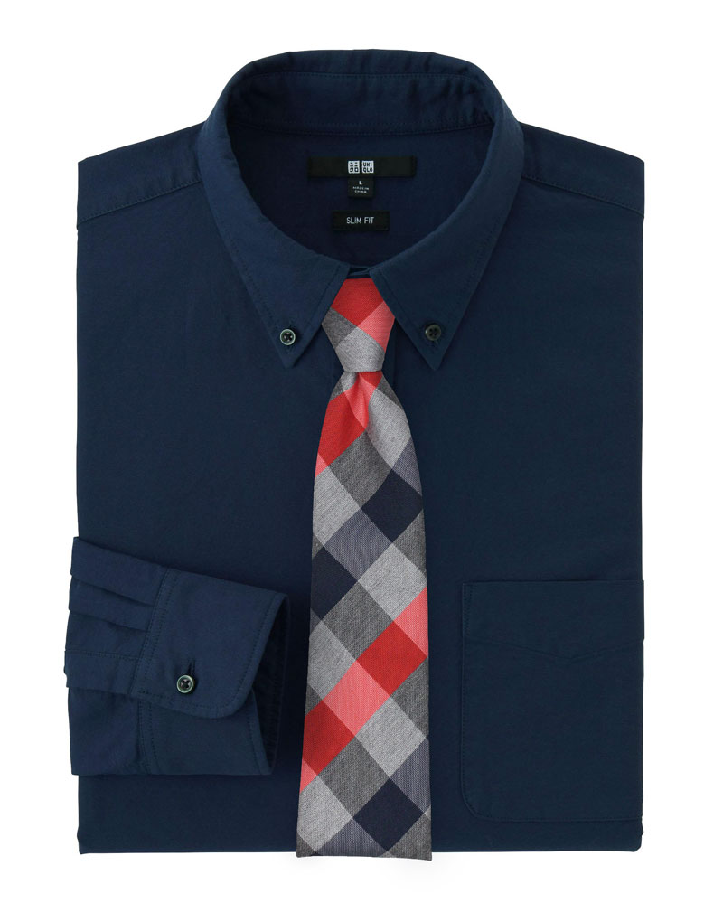 Plaid Neckties In Red, Grey, and Navy